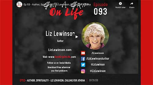 Get a Grip on Life Podcast Liz Lewinson